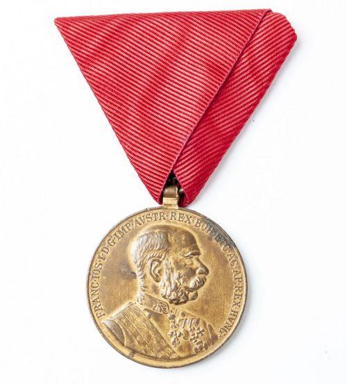 Austria Commemorative medal Franz Josef I Signum Memoriae 1848-1898 1