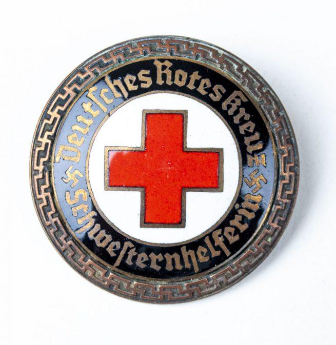 DRK (Deutsche Rotes Kreuz) Senior Helper's Service Brooch (Brosche Schwesternhelferin)1