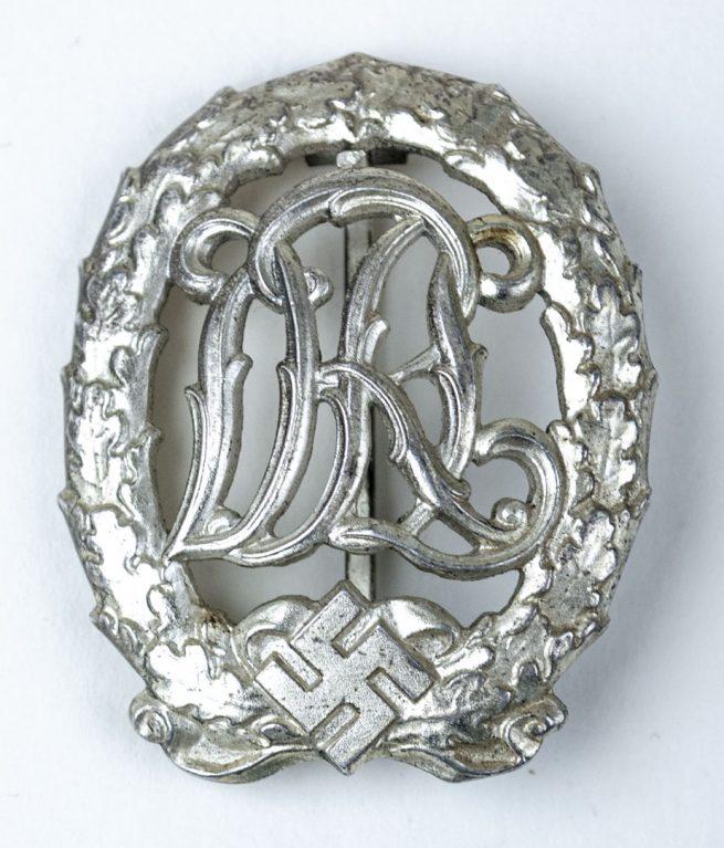 DRL Sports Badge in silver (Deutsches Reichssportabzeichen in silber)