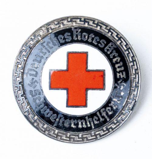 Deutsche Rote Kreuz Senior Helper's Service Brooch Schwesternhelferin 1