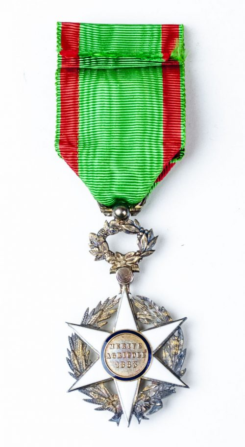 France médaille du mérite agricole 1883