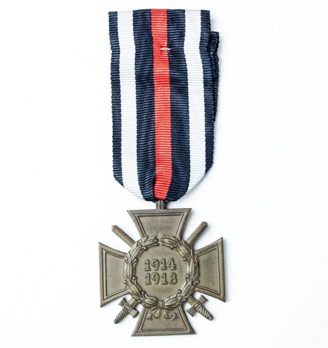 Frontkämpfer Ehrenkreuz Hindenburgcross - medal cross World War I - 1