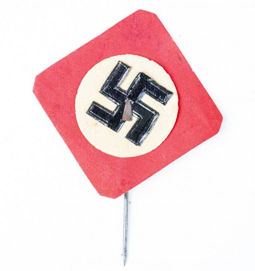 German WHW patriotic swastika badge 1