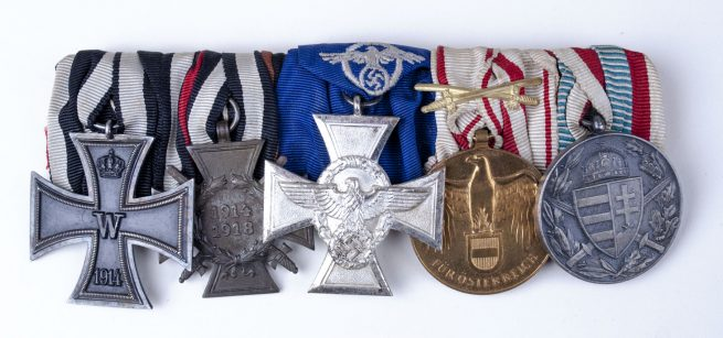German WWII Policemedalbar - 12
