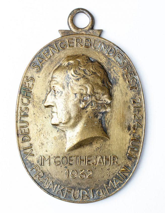 Goethejahr-1932-Sängerbundesfest-Frankfurt-am-Main