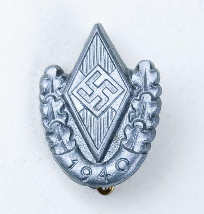Hitlerjugend Siegernadel der Reichssport wettkämpfe 1940