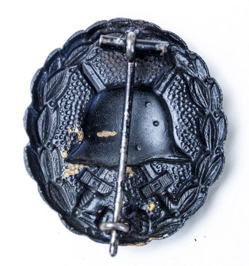 Imperial Black woundbadge verwundetenabzeichen