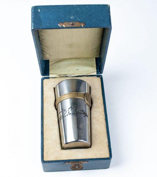 Kriegsbecher 1914 - 1915 im etui