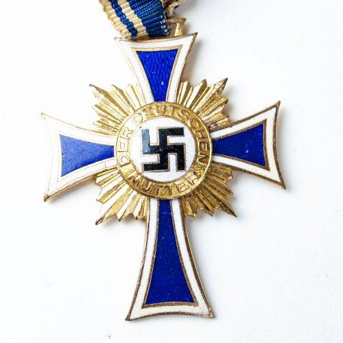 Mutterkreuz etui motherscross gold - ziemer & Sohne oberstein - 2