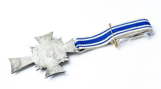 Mutterkreuz motherscross silver with paper - 1
