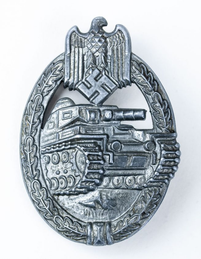 PAB Panzer Assault Badge PKA Panzerkampfabzeichen Frank & Reif Stuttgart - 1