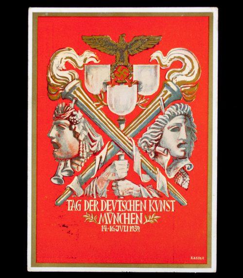 Postcard: Tag der Deutschen Kunst 1938 München postcard