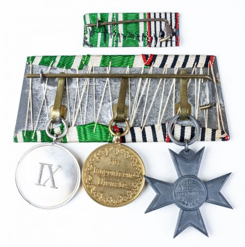 Preussen medal bar