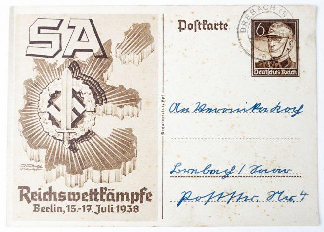 SA Wettkämpfe Berlin 1938