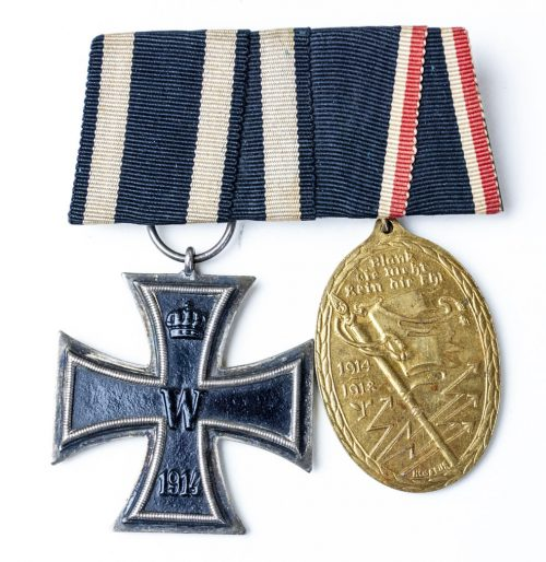 Spange medalbar iron cross Kyffhauserbund