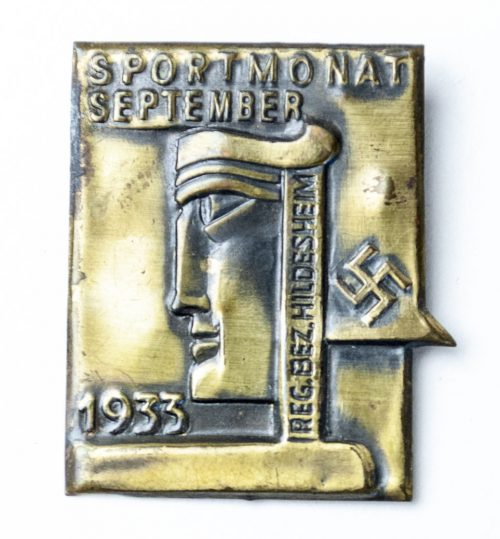 Sportmonat September Hildesheim 1933 - 1