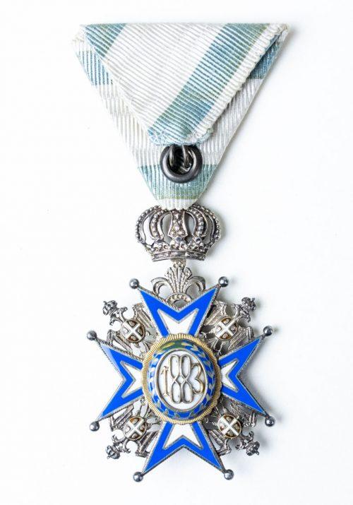 St. Sava cross 5th class medal
