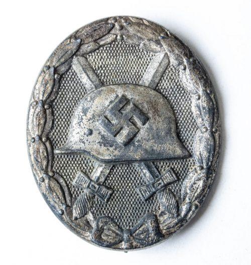 VWA Woundbadge in Silver Silber Verwundetenabzeichen 1