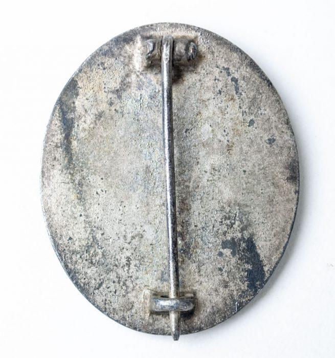 VWA Woundbadge in Silver Silber Verwundetenabzeichen