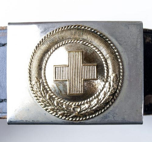 WEIMAR Koppelschloss Rotes Kreuz - red cross belt + buckle 2