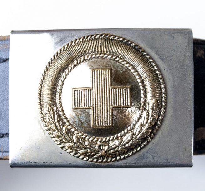 WEIMAR Koppelschloss Rotes Kreuz - red cross belt + buckle 2