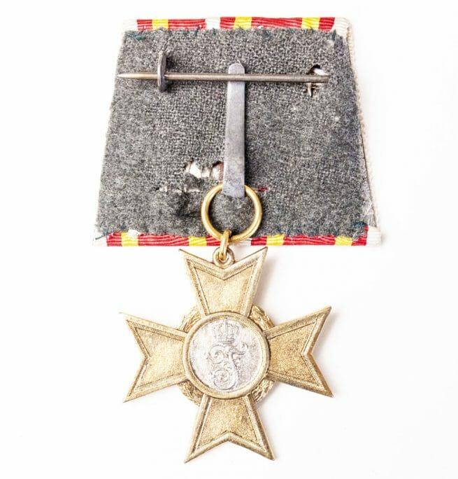 Baden Kreigsverdienstkreuz single mount einzelspange