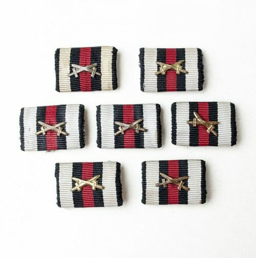Frontkämpfer Ehrenkreuz Hindenburg kreuz cross single ribbon feldspange bandspange