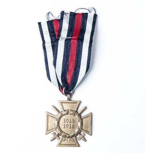 Frontkämpfer Ehrenkreuz medal - Hindenburgcross FEK