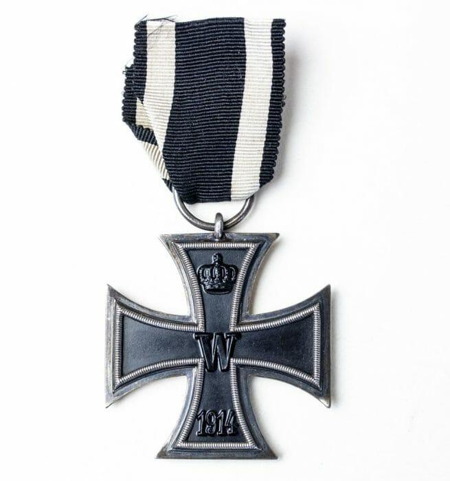 "Imperial Iron cross second class (EK2) - maker ""Z"""