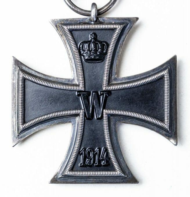 "Imperial Iron cross second class (EK2) - maker ""Z""."