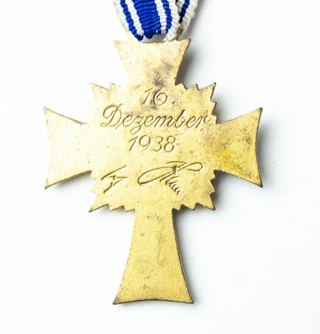 Mutterkreuz gold Motherscross gold