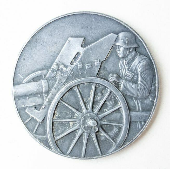 Pak Geschütz Preisschiessen 1935 medal in silver (2. Preis)