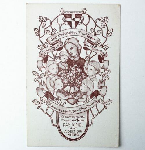 Postcard Der Deutschen Mutter Muttertag Das Kind Adelt die Mutter