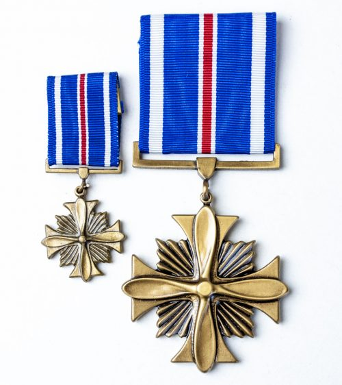 USA United States Distinguished Flying Cross + miniature medal