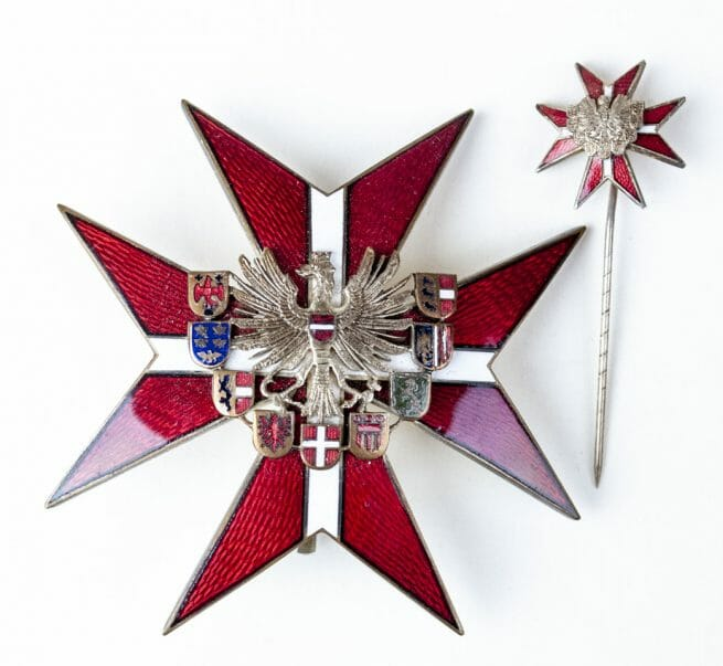 Austria Distinction of Honour for Merit to the Republic Grand Decoration breast star