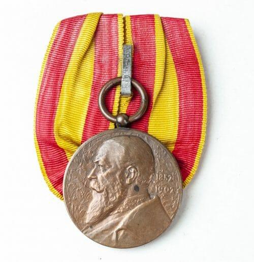Baden Regierungsjubiläumsmedaille 1902 einzelspange (single mount)