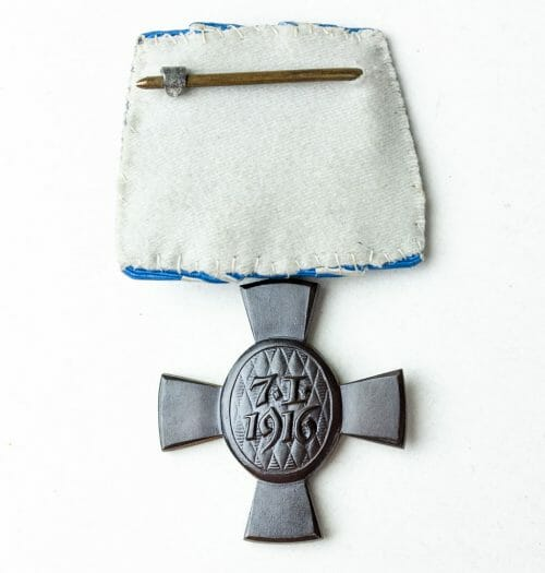 Bayern König Ludwig kreuz einzelspange (Bavaria King Ludwig cross single mount)