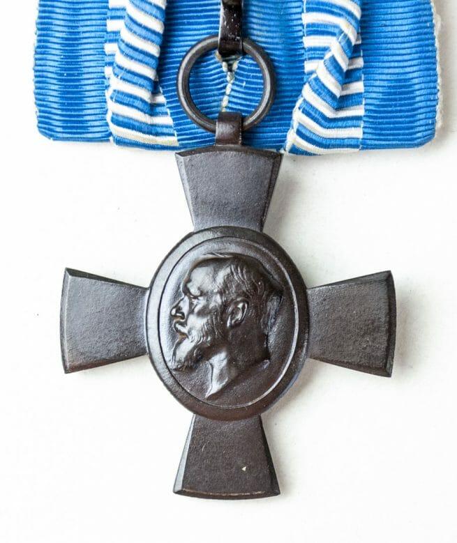 Bayern König Ludwig kreuz einzelspange (Bavaria King Ludwig cross single mount)