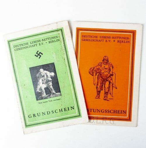Deutsche Lebensrettungs Gesellschaft E.V. Berlin passes