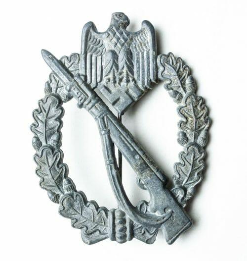 Infanterie Sturmmabzeichen (Infantry Assault Badge) – MK1 Arbeitsgemeinschaft Metall und Kunststoff from Gablonz