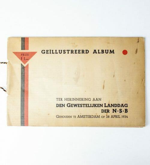 NSB Geillustreerd Album ter herinnering aan den Gewestelijken Landdag 1934 -