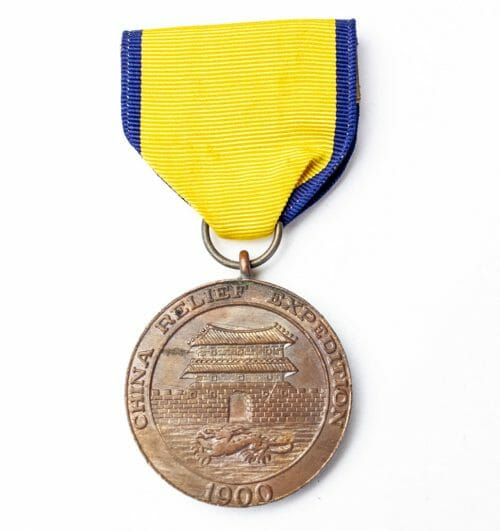 USA China Relief Expedition Medal