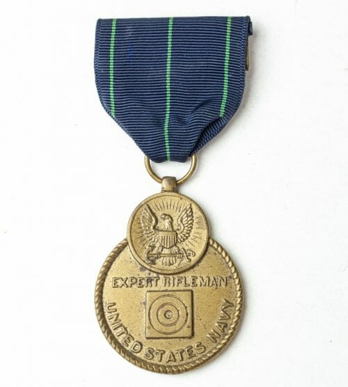 USA Expert Rifleman medal United States Navy