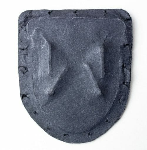 WWII Krim Shield for Luftwaffe on blue cloth
