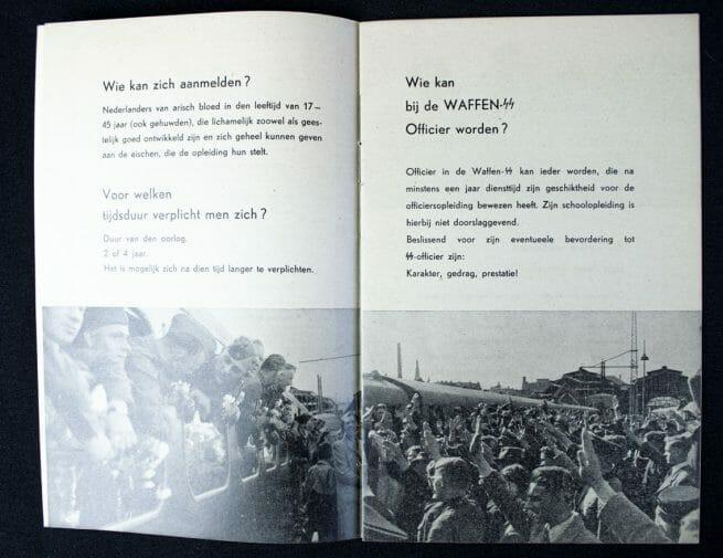 Waffen-SS - Volg de roepstem van eer en geweten!