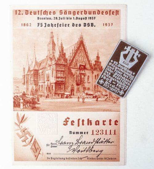 12. Deutsches Sängerbundesfest 1937