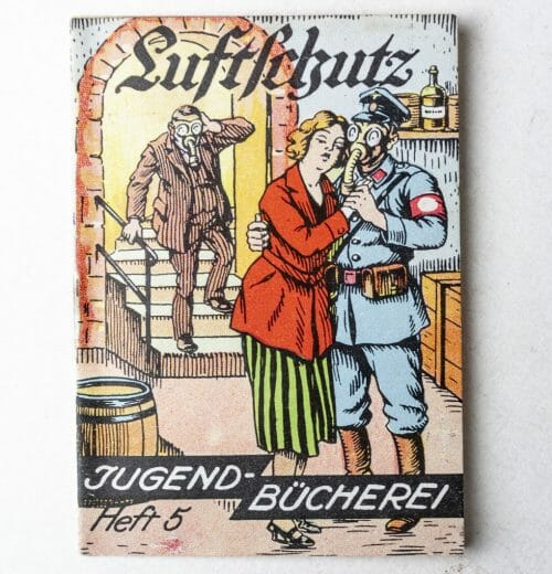 Luftschutz miniature booklet