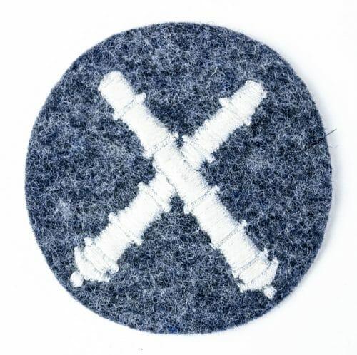 Luftwaffe arm badge for Waffenpersonal Flak Artillerie
