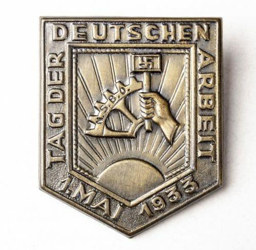 NSBO - Tag der Deutschen Arbeit 1 mai 1933
