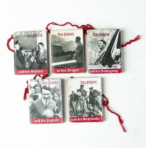 Reichsstrassensammlung Winterhilfswerk (WHW) Hitler Miniature booklets